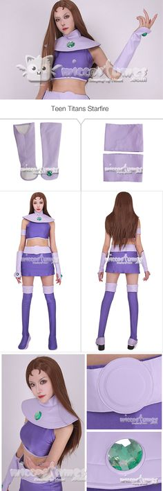 More about Teen Titans Starfire Cosplay Costume sells at Miccostumes. #cosplay #miccostumes #TeenTitans #Starfire #CosplayCostume #TeenTitansStarfire #TeenTitanscosplay #Starfirecosplay