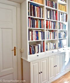 Transform your Ikea Billy bookcase with these 11 fun DIY projects