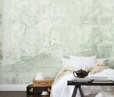 Mr Perswall Wandfarbe, Strukturierte Wände, Betonwand, Schlupfwinkel,  Kleine Wohnung Einrichten, Innenraum