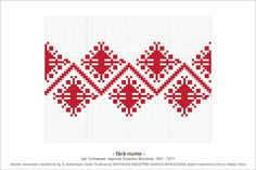 Semne Cusute: MOTIVE: (P22, M18) Folk Embroidery, Ribbon Embroidery, Cross Stitch Embroidery, Embroidery Patterns, Machine Embroidery, Knitting Room, Knitting Charts, Knitting Stitches, Peyote Patterns