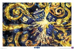 The pandorica opens- it's been hanging on my wall for a year and I still love it!