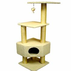 Majestic 52 Inch Bungalow Cat Tree