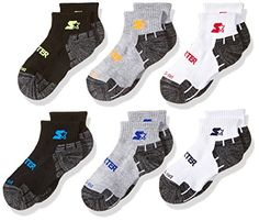 New 10 pairs of Boy/'s Crew No Show Socks by Jerzees White fits size 9 to 2-1//2-