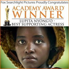 .Winner Best Supporting Actress for 12 Years A Slave