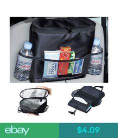 66d77417e51e  4.09 - Auto Accessories Car Seat Back Multi-Pocket Insulation Storage Bag  Organizer Hot