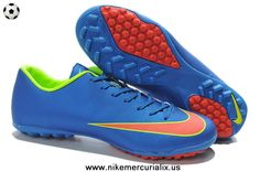 Nike Mercurial Victory (Royal Blue/Volt/Orange) X TF Boots