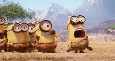 Cavemen Minions [Minions Film Wallpaper]