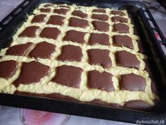 Tvarohový koláč Prešívaná deka Tiramisu, Ethnic Recipes, Sweet, Food, Basket, Cakes, Essen, Tiramisu Cake, Yemek