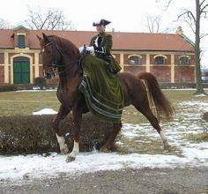 Baroque. Dressage. Sidesaddle. Perfection.
