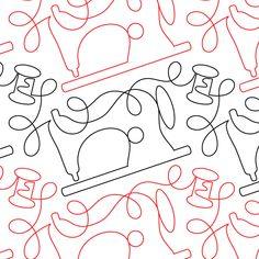 Vintage Stitches - Digital - Quilts Complete - Longarm Continuous Line Quilting Patterns Longarm Quilting, Free Motion Quilting, Line Patterns, Quilt Patterns, Machine Quilting Designs, Continuous Line, Quilts, Stitch, Vintage