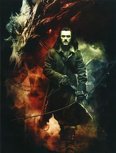 The scene where he shoots Smaug was one of my favorite scenes from the entire trilogy.