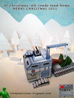F.A.T.S PaperCraft  Christmas Theme