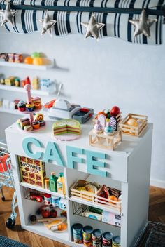 Kids Art Space, Kids Cafe, Kids Play Kitchen, Daycare Rooms, Girl Bedroom Designs, Toy Rooms, Little Girl Rooms, Kidsroom, Kids House