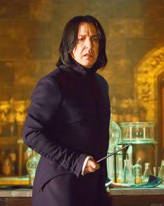 Snape's my hero Draco Malfoy, Harry Potter Severus Snape, Alan Rickman Severus Snape, Severus Rogue, Hermione Granger, Albus Dumbledore, Harry Potter Images, Harry Potter Film, Harry Potter Facts