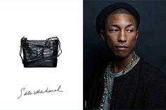 O cantor @pharrell foi escalado para estrelar a campanha da bolsa Gabrielle da @chanelofficial! Essa é a primeira vez que um homem é o rosto do acessório mais desejado da maison francesa. As fotos são de @karllargerfeld!  via HARPER'S BAZAAR BRAZIL MAGAZINE OFFICIAL INSTAGRAM - Fashion Campaigns  Haute Couture  Advertising  Editorial Photography  Magazine Cover Designs  Supermodels  Runway Models