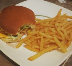 Homemade MacDonalds filet o fish meal. Half the calories satisfied my craving