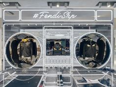 Fendi's turning up the volume in #Beijing! Introducing the new #FendiSKP Men's pop-up shop.