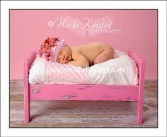NEW Light Pink Infant Knit Beanie by jewelrybabyblingdara on Etsy, $21.99