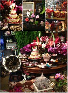 Integrando elementos vintage e modernos na decoração do Casamento - por Rafaeel Marshal para o Wedding Outlet