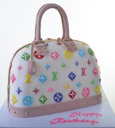 Louis Vuitton Cake Stencil | ... Specialty Cake Tallahassee Wedding Fondant Cakes Cake on Pinterest