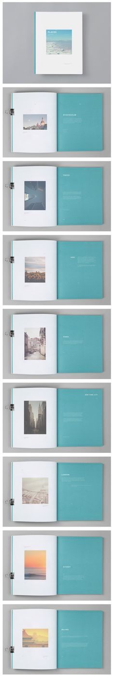 Super Ideas For Travel Book Layout Design Simple Booklet Design, Book Design Layout, Print Layout, Editorial Design, Editorial Layout, Beauty Editorial, Graphic Design Agency, Graphic Design Layouts, Cv Inspiration