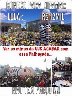 Por Dentro... em Rosa: Sorrir faz bem ! Boneco do Lula inflável que foi r...