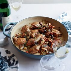 Cooking with White Wine  Here, amazing recipes that use white wine like delicious stews, steamed mussels, poached fish and more.