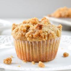 Banana Brown Sugar Crumb Muffins are going to be a favorite in this household too!! Perfect for fall, I can't wait to try them!!