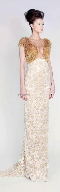 Rami Kadi Les Jardins Suspendus – Spring 2013-14 Couture