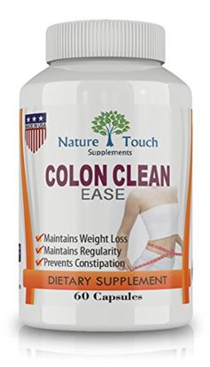 Colon Cleansing and Body Cleanser Detox,Natural And Health Formula for Flush Cleanse, by Nature Touch
