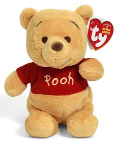 Proud owner of this Winnie the Pooh - bear - Ty Beanie Babies Beanie Babies Value, Rare Beanie Babies, Beanie Baby Bears, Peluche Winnie The Pooh, Winnie The Pooh Nursery, Winnie The Pooh Friends, Disney Plush, Baby Disney, Teddy Hermann