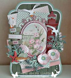 Marianne Design Cards, Under The Sea, Scrapbook Cards, Diaper Bag, Nautical, Lunch Box, Relax, Van, Crafty