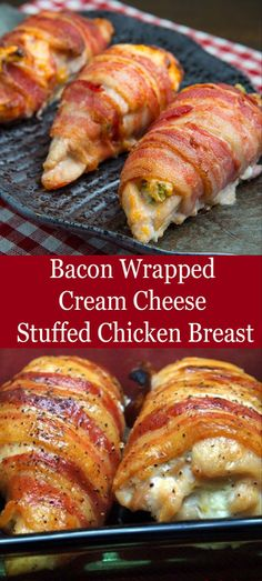 Bacon Wrapped Cream Cheese Stuffed Chicken Breast Bacon Wrapped Cream Cheese Stuffed Chicken Breast Veral Khan Food Recipes estherbcunningham Healthy Recipes This delicious Best recipes Recipes is a hunger keeper! Bacon Recipes, Cooking Recipes, Healthy Recipes, Bacon Meals, Recipes With Bacon And Chicken, Meals With Chicken Breast, Good Recipes, Oven Bacon, Bacon Appetizers