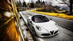Latest Italian car porn: 4C Spider