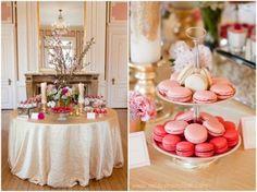 Idée pour un mariage en rose pâle