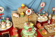 farm barnyard party via catch my party