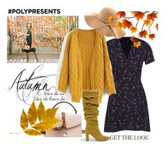 """""""Autumn"""" by maya1705 ❤ liked on Polyvore featuring Boohoo, Chicwish, CHARLES & KEITH and WithChic"""