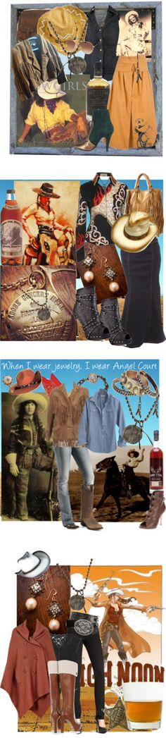 """Bourbon and Boots"" by kateolive ❤ liked on Polyvore"