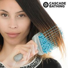 BROSSE SÈCHE-CHEVEUX DRY Dry Hair, Hair Brush, Styling Brush, Boar Bristle, Hair Ties, Your Hair, Curls, Moisturizer, Towel