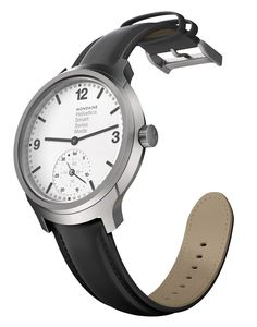 """This Is Mondaine's New Smartwatch - read about how the MMT 'Horological Smartwatch' Platform Finally Ties Switzerland To Silicon Valley - today on aBlogtoWatch.com """"What people really want to know is what MMT is and what it offers. The initial Horological Smartwatch products share a lot in common with other minimalist smartwatch platforms with mostly, or all-analog dials... MMT watches will have no digital screens and no charging ports..."""""""