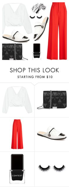 """""""Girl Power"""" by fattie-zara ❤ liked on Polyvore featuring Roland Mouret, Context and Bobbi Brown Cosmetics"""