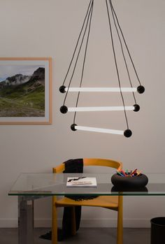 Ray - Sylvain Willenz Futuristic Lighting, Glamour, Lampshades, Objects, Ceiling Lights, Den, Room Ideas, Home Decor, Lamp Shades