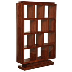 Art Deco Bookcase   From a unique collection of antique and modern bookcases at http://www.1stdibs.com/furniture/storage-case-pieces/bookcases/