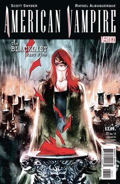 American Vampire #32. Cover by Rafael Albuquerque.