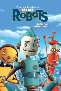 """Robots - Repair for adventure """"It's a combination of jazz and funk. It's called junk."""""""