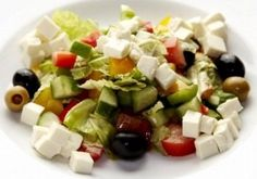 Салат «Варна» - рецепт болгарского овощного салата