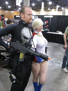https://flic.kr/p/c7igAW | Picture 773 | Power Girl and the Punisher