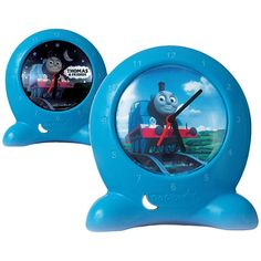 Diggin Active Thomas the Tank Engine GoGlow Clock  $35  The Thomas the Tank Engine GoGlow Clock is the perfect accessory for a child's bedroom. This two-in-one bedtime training clock features a night light to reassure your little one when it's dark and also to help them know it's not time to wake up yet.