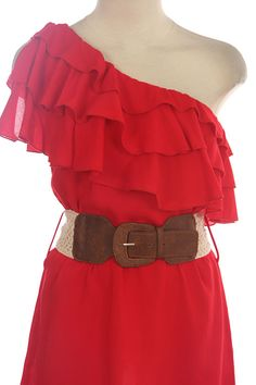 I would change the belt, but maybe a good dress for christmas to go with my gold steve maddens?