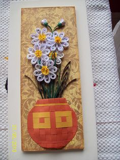 Quadro em quilling by martinaquill, via Flickr